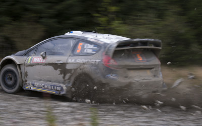 Stand Clear - WRC Rally GB Wales 2012