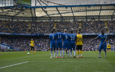 Big names to get through - Stamford Bridge 2012