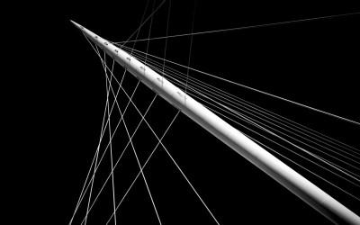 White Lines - Trinity Bridge Manchester