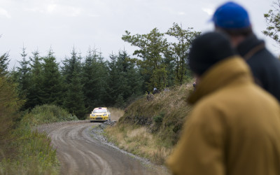 2 geezers 1 rally car - WRC Rally Wales 2012