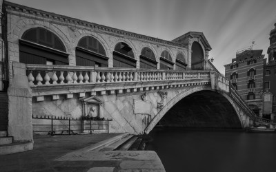 Rialto Bridge Exposed