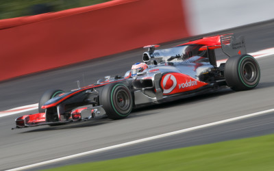 Jenson Button  - Spa F1 Qualifying 2010