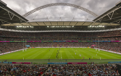 Game on - All Blacks at Wembley 2015 World Cup