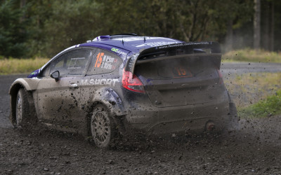 Focus - WRC Rally GB Wales  2012